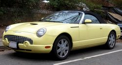 Ford Thunderbird, 2002