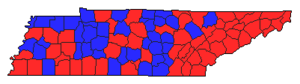 2002 Tennessee Senate results by county.png