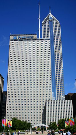 One Prudential Plaza in 2004.