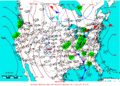 2005-04-07 Surface Weather Map NOAA.png