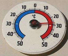 Termometro a lamina bimetallica