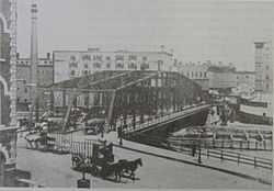 20070913 Rush Street Bridge from Stamper's Book.JPG