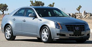 Cadillac CTS Motor vehicle