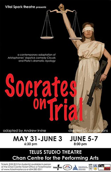 the apology socratess defense on the trial The apology is plato's account of socrates defense against the charges that meletus, anytus and lycon had brought before the athenian court these charges we impiety and confusing the minds of the youth.