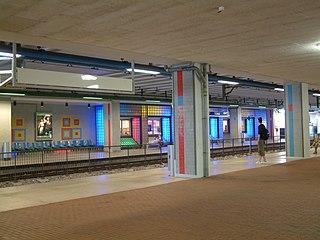 Stadhuis (Zoetermeer) RandstadRail station RandstadRail station in Zoetermeer
