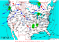 2009-03-21 Surface Weather Map NOAA.png