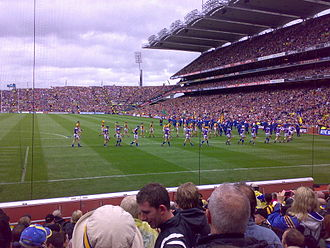 Hurling - 82,000 people at the 2009 All-Ireland Senior Hurling Championship Final between Kilkenny and Tipperary at Croke Park in Dublin