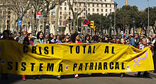 2009 International Women's Day in Barcelona protest 02.jpg