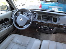 2011 Mercury Grand Marquis interior.jpg