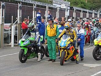 2012 Manx Grand Prix - Image: 2012 MGP Practice 20 Aug 2012 IMG 0030