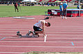 2013 IPC Athletics World Championships - 26072013 - Alexander Zverev of Russia during the Men's 400M - T13 Semifinal 3.jpg