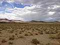 2014-07-18 16 58 57 Distant view of the south edge of the Black Rock Lava Flow, Nevada.JPG