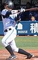20140308 Hiroki Minei, catcher of the Yokohama DeNA BayStars, at Yokohama Stadium.JPG