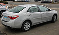 2014 Toyota Corolla 1.8 LE (ZRE172), rear right.jpg