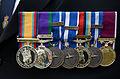 2015-06-20 200 Jahre Schlacht bei Waterloo, Welfenbund, The Royal British Legion, Hannover, Waterloosäule, (42).JPG
