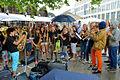 2015-07-12 Schorsenbummel auf der Georgstraße in Hannover. (10) Bläserklasse der Schillerschule.JPG