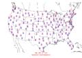 2016-04-10 Max-min Temperature Map NOAA.png