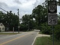 2017-07-05 17 05 36 View east along Virginia State Route 306 (Harpersville Road) at Tyler Avenue in Newport News, Virginia.jpg