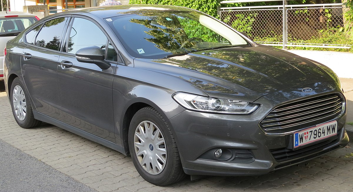 Ford Car Models 2017 >> Ford Mondeo (fourth generation) - Wikipedia
