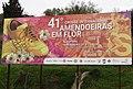 2018-02-26 Advertising hoarding for cross country event, Estrada de Ferreiras, Albufeira.JPG