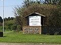 2018-05-07 Entrance sign, Woodland Holiday Park, Trimingham, Norfolk.JPG