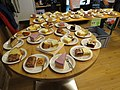 2018-10-07 (242) Different cakes at opening ceremony of new fire station Hofstetten-Grünau, Austria.jpg