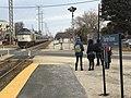 20180324 01 Amtrak & Walking Group at Morton Grove Metra stop (44932163684).jpg
