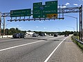 2019-06-14 15 44 04 View south along the Outer Loop of the Baltimore Beltway (Interstate 695) at Exit 16 (Interstate 70, Frederick, Local Traffic) in Woodlawn, Baltimore County, Maryland.jpg