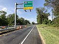 2019-08-20 15 39 10 View north along U.S. Route 1 (Southwestern Boulevard) at the exit for Interstate 695 NORTH (Towson) in Arbutus, Baltimore County, Maryland.jpg