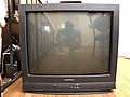 2020-04-10 18 25 09 The front of a Daewoo Model Number DTQ-27S5FC television in the Franklin Farm section of Oak Hill, Fairfax County, Virginia.jpg