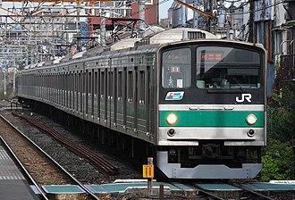 Saikyō Line - Image: 205kei saikyou line