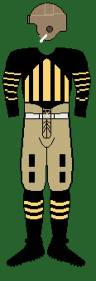 1929 Purdue Boilermakers football team - Image: 20spurdueuniform