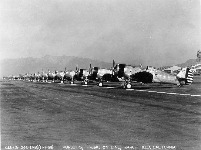 20th Pursuit Group P-36 Hawks