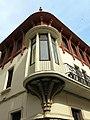 224 Casa Alsina Roig, cantonada c. Abell - riera Buscarons (Canet de Mar), tribuna.JPG