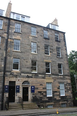 John Paterson (architect) - Paterson lived in a flat at 24 Buccleuch Place, Edinburgh
