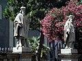 2892 - Catania - Cattedrale - G. Nicoli - Statue nella ''Floretta'' (giardino) - Foto Giovanni Dall'Orto, 4-July-2008.jpg