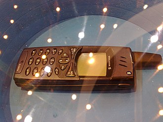 Sony Mobile - An Ericsson mobile phone from before the joint venture