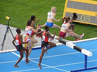 Steeplechase (athletics) - Women's steeplechase at the 2008 World Junior Championships, in Bydgoszcz