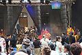3007viki Teatr Lalek - scena letnia od parku. Koncert Romów. Foto Barbara Maliszewska.jpg