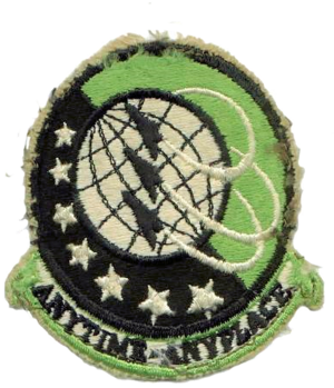 307th Air Refueling Squadron - 1985-1990 squadron patch