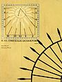 311 Casa Ruyra, c. Sant Josep 3 (Girona), rellotge de sol, façana c. d'en Mora.jpg