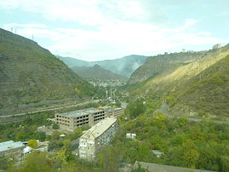 Alaverdi, Armenia - Debed river canyon