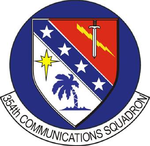 354 Communications Sq emblem.png