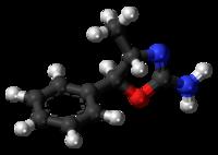 Pilk-kaj-bastona modelo de 4-metilaminoreks