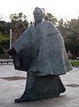 43 Simón Bolívar, de Julio Maragall, parc de la Barceloneta.jpg