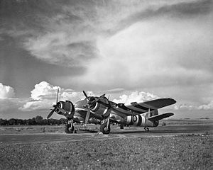 No. 455 Squadron RAAF - A No. 455 Squadron Beaufighter in 1944