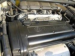 black-top 20 Valve 4A-GELU Engine(Japanese-spec) in 1996 Carina GT