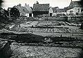 4Opgraving ValkenburgZH 1942 NWhoek takkenfundering wal oudste-fase RMO.jpg