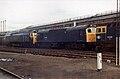 50007, 25306 & 33048 - Crewe Works (10755052586).jpg