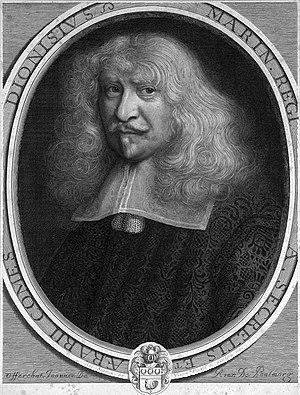 Antoine Masson - Portrait of Denis Marin, 1672